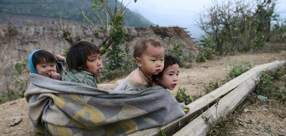 trẻ em vùng cao khó khăn