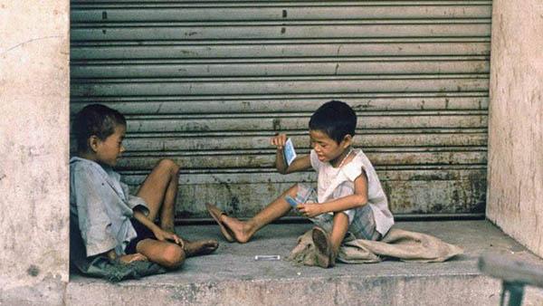Trẻ em lang thang có thể không có gia đình